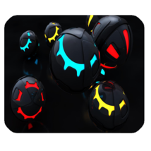 Mouse Pad New Sports Editions Abstract Ball Fantasy Animation - $6.00