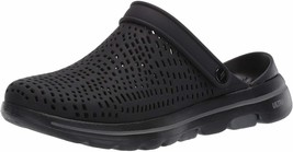 Womens Skechers Foamies Go Walk 5 Astonished Clog - Black [111103/BLK] - $49.99