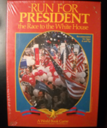 World Book Game 1988 Run For President The Race For The White House Seal... - $14.99