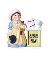 Pacific Giftware Clean Kitchen Ceramic Magnetic Salt and Pepper Shaker Set - $12.86