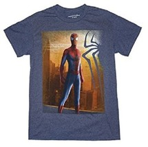 MARVEL COMICS SPIDERMAN MENS XL GRAY T-SHIRT NEW - $11.97