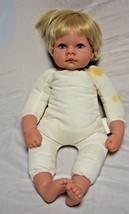 1998 Lee Middleton Original Baby  Doll # 090798 Blonde Hair Blue Eyes 16... - $29.02