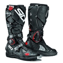 Sidi Crossfire 2 Black Motocross Boots MotoX Off-Road Enduro Leather Adj... - $457.70