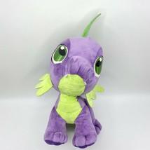 My Little Pony Spike The Dragon Plush Hasbro Lrg Stuffed Animal Purple G... - $29.69