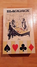 Vintage Jax blackjack dealer set cards, mat, shoe, rule book - $15.83