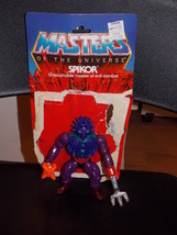Vintage 1984 Masters Of The Universe Spikor Figure Complete With Cardback - $19.99