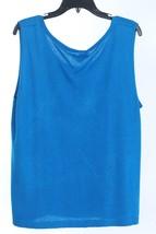 NWT NEW Tank Top Sweater Womens 2XL JONES NEW YORK Blue  - $61.70