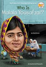 Who Is Malala Yousafzai? (Who Was?) [Paperback] Brown, Dinah; Who HQ and... - $5.43