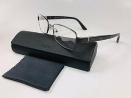 New PRADA VPR 51O 2AU-1O1 Silver & Tortoise Eyeglasses  52mm with Case - $83.11