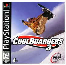 Cool Boarders 3 (Sony PlayStation, 1998, NTSC *DISC ONLY*) Ships in 12 hours!!! - $6.19