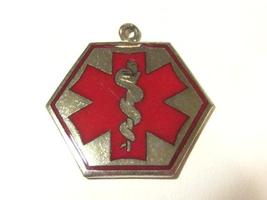 Vintage sterling silver 925 contact lenses pendant - $7.00