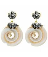 Handmade High Qaulity Jewelry Round Shell Earrings For Women Summer Beac... - $9.95