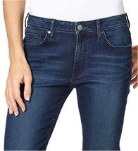NEW Calvin Klein Women's Slim Boyfriend Blue Inkwell Jeans Sizes 2 4 8 12 image 3