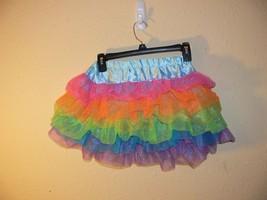 My Little Pony Rainbow Dash Girls Skirt Tutu Dress Up Size M 8-10 jw - $12.50