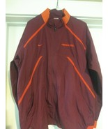 Nike Fit Storm Virginia Tech Hokies Team Windbreaker Jacket Size (M) Ful... - $31.35