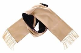 Dolce & Gabanna Men's Silk Viscose Scarf Beige - $97.02