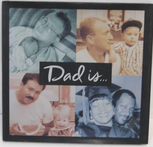 Dad is FVP1226 Hallmark Hardback Book A Man of Many Titles