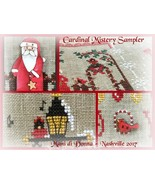Cardinal Mystery Sampler Part 1 In The Garden c... - $7.20