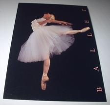 Unused Postal Card-BALLET STAMP-Beautiful Ballerina Dancing - $10.00