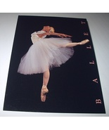 Unused Postal Card-BALLET STAMP-Beautiful Ballerina Dancing - $10.00