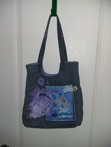 Disney Eeyore Denim Shoulder Bag Women's Purse Hand Bag - $19.79