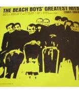 The Beach Boy's Greatest Hits (1961-1963) LP - $11.00