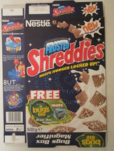 MT Cereal Box FROSTED SHREDDIES 1999 Bug's Life NESTLE 500g From the UK ... - $20.16