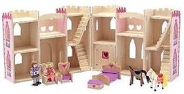 Melissa & Doug Fold Go Pretty Pink Princess Castle Pretend Play Set Kit - $48.09