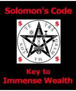King Solomon Code Key To Immense Wealth 3rd Eye Betweenllworlds Money Spell - $155.27