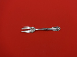 """American Beauty Rose by Holmes & Edwards Plate Silverplate Salad Fork 6"""" - $42.00"""