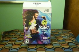 Zumba Fitness 2 (Nintendo Wii, 2011) Disk NM Has Belt - $12.86
