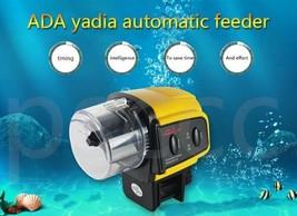 Auto Fish Feeder Aquarium Tank Timer Digital LCD Automatic Food Feeding ... - $17.40+