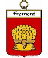 FROMENT French Coat of Arms Print FROMENT Famil... - $25.00