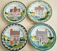"Claire Murray Sakura ""Nantucket"" Lunch/Dessert Plates Set of Four - $37.40"