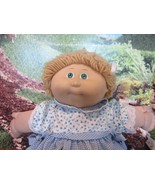 "Cabbage Patch Kids 14"", Xavier Roberts baby doll blonde hair blue eyes - $22.28"