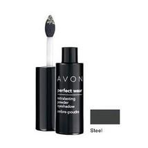 Avon Perfect Wear Extralasting Powder Eyeshadow ~ Steel  - $11.99