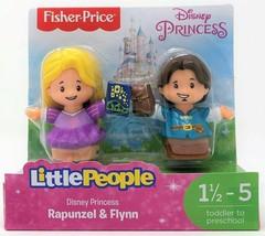Little People Disney Princess Rapunzel and Flynn Rider Figure Toy - $11.23