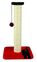 Trixie Mendi Scratching Post, 61 Cm, Red/black #bej - £28.20 GBP
