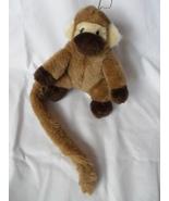 "Rhode Island Novelty Plush Monkey with long tail 6"" tall E - $9.95"