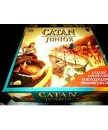 Klaus Teuber's Catan Junion Fun Fair Adventure Game NEW Unpunched Pieces  - $25.00