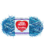 """Red Heart Scrubby Yarn-Waves, Set Of 3"" - $14.99"