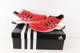 New Adidas Adizero Adios 2 Jogging Running Shoes Sneakers Black Womens Size 7 - $138.55