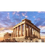 Baocicco Parthenon Sunset Glow View of Acropolis Athens Backdrop 7x5ft P... - $18.74