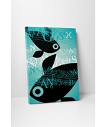 """Zodiac Sign Pisces Gallery Wrapped Canvas 16""""x20"""" - $42.52"""