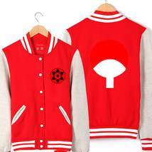 Naruto baseball uniform Hip Hop Winter Warm Jacket  - $45.99