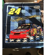 """Fabric Piece Motorsports Pattern Number 24 Craft Hobby Sewing 34"""" X 21"""" - $6.15"""