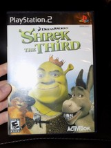 Shrek the Third (Sony PlayStation 2, 2007) EUC - $26.40