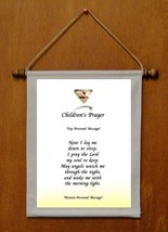 Children's Prayer - Personalized Wall Hanging (135-1) - $19.99
