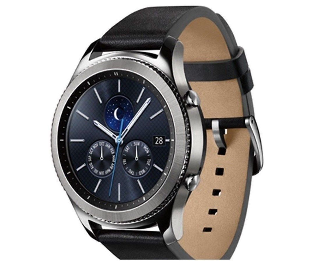 Samsung Gear S3 Classic Smart Watch SM-R770 Bluetooth Ver. [Silver]
