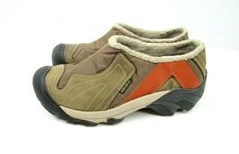 Keen Dry Womens Size 7.5 Clogs Mocs SM0709 Warm Slip On Shoes Brown 5723-DERU - $28.66